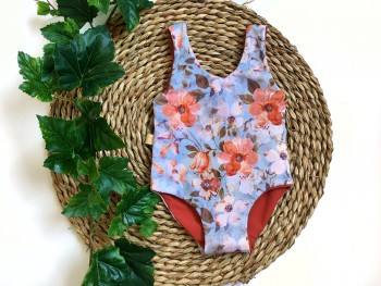 Swimsuit Boho floral
