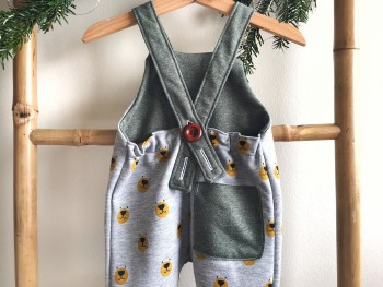 Bear dungaree